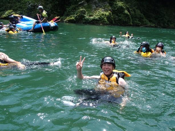 吉野川ラフティング 大歩危 高知 徳島 激流 夏は水遊びが最高!