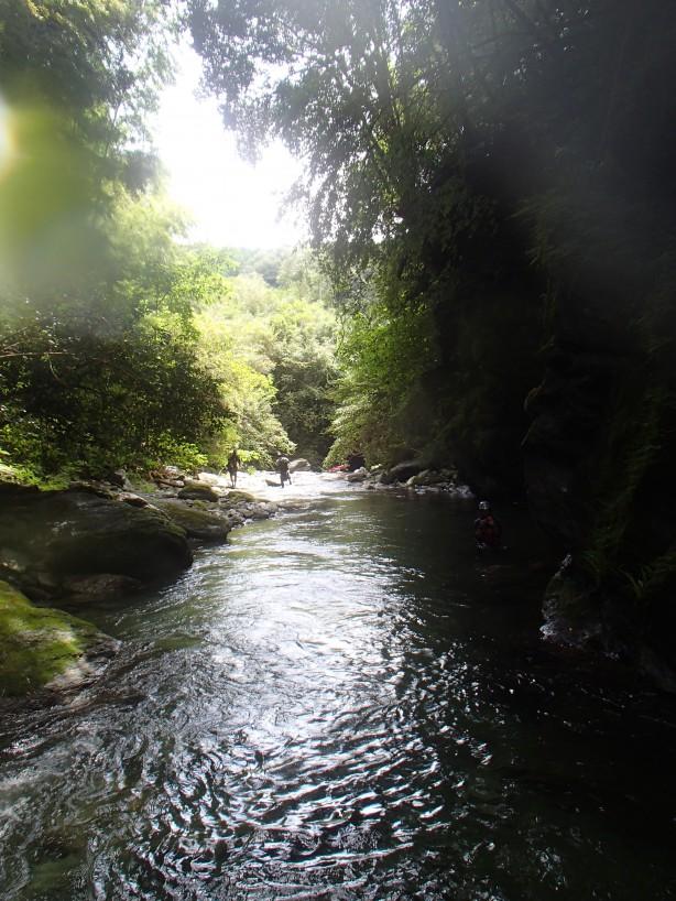 吉野川ラフティング キャンプツアー下見