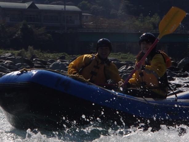 激流 吉野川 綺麗な水 四国 徳島 高知 旅行 10月