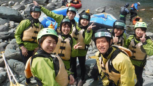 吉野川ラフティング,徳島,高知,四国,卒業旅行,学生旅行
